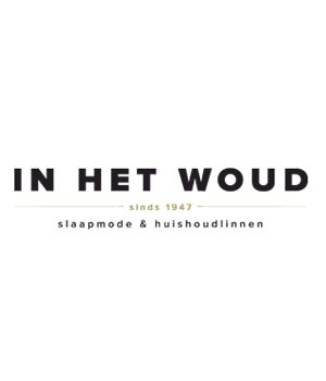 Woody Unisex slabbetje blauw