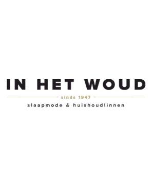 Woody Jongens-Heren zwembroek blauw logo